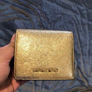 Michael Kors Wallet GOLD